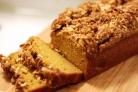 Тыквенный хлеб с посыпкой