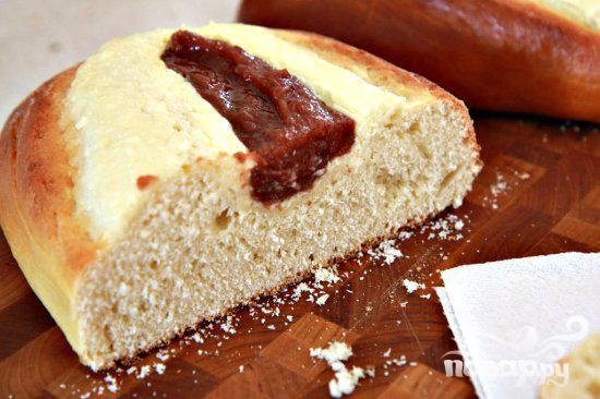 Хлеб с сыром и гуавой - фото шаг 9