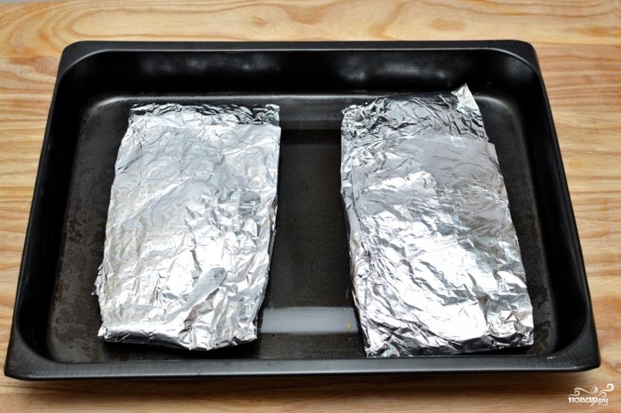 Филе трески в духовке - фото шаг 5