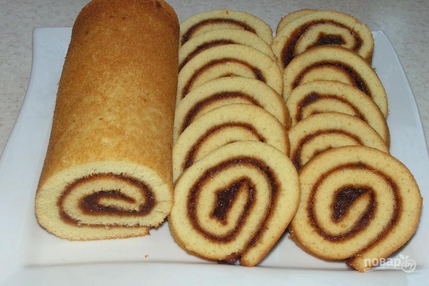 Бисквитная выпечка рецепты с фото
