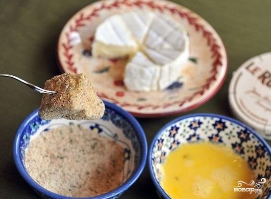 Сыр, жареный в панировке - фото шаг 5