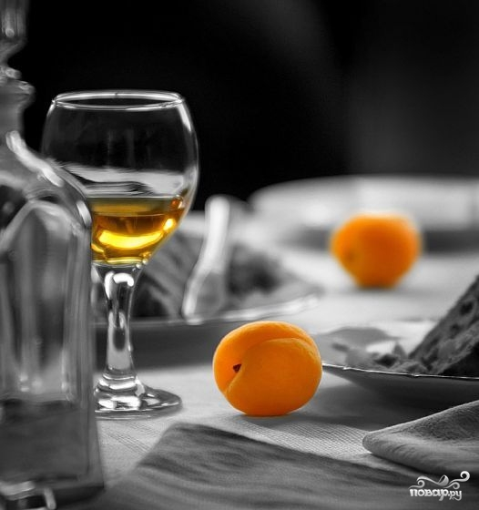 Рецепт Вино из абрикосов