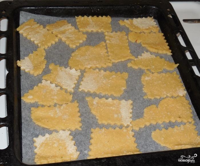 Печенье из сыра - фото шаг 3