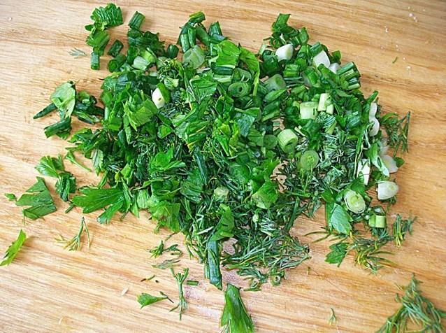 Соус с зеленью и чесноком - фото шаг 3