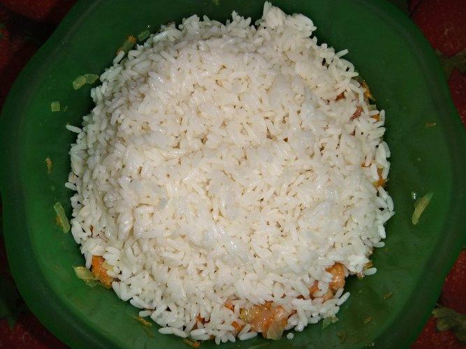Тефтели с рисом в мультиварке - фото шаг 8