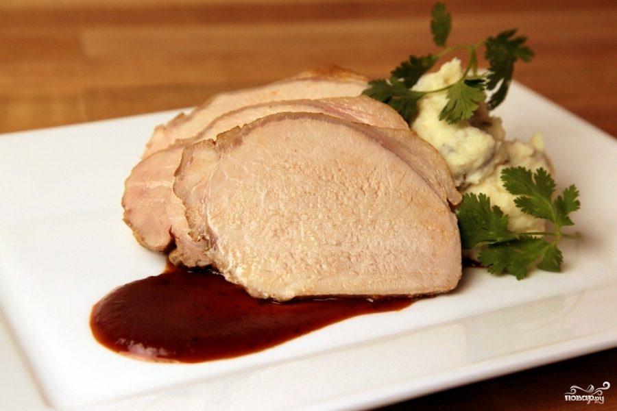 Рецепт Свинина, запеченная куском со специями