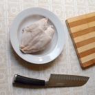 Рецепт Салат с курицей и фасолью