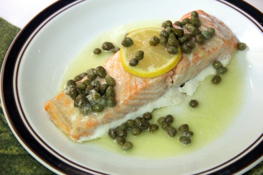 Запеченный лосось под соусом - фото шаг 4