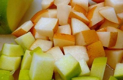 Рецепт Пюре из яблок и груш