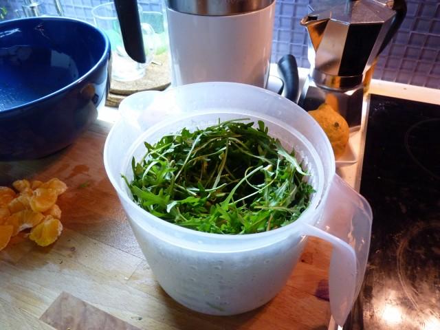 Салат к запеченной утке - фото шаг 1