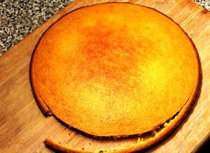 Торт в мультиварке со сгущенкой - фото шаг 5
