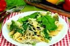 Брокколи со шпинатом
