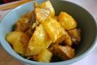 Свинина с картошкой в пакете в духовке