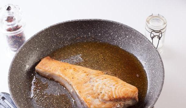 Жареная рыба-меч - фото шаг 3