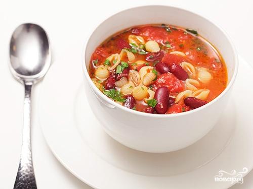 Рецепт Суп с бобами