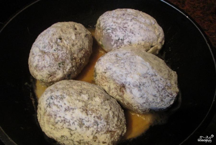 фарш с картофельным пюре в духовке