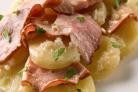 Запеканка картофельная под горчичным соусом