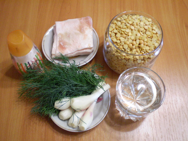 Рецепт Гороховая каша без замачивания