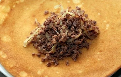 Фарш для блинчиков с мясом - фото шаг 7