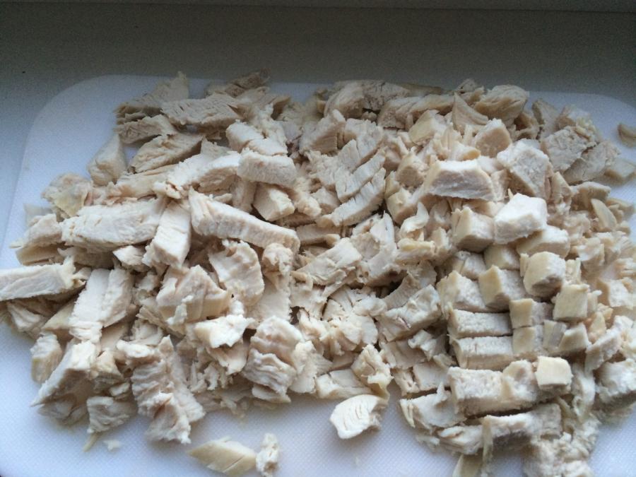 Куриные маффины с сыром - фото шаг 2