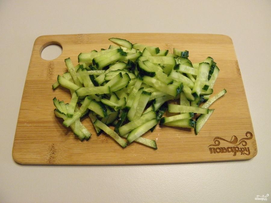 салат из свинины и корейской моркови рецепт