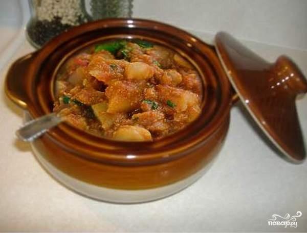 Мясо, запеченное в горшочке - фото шаг 8
