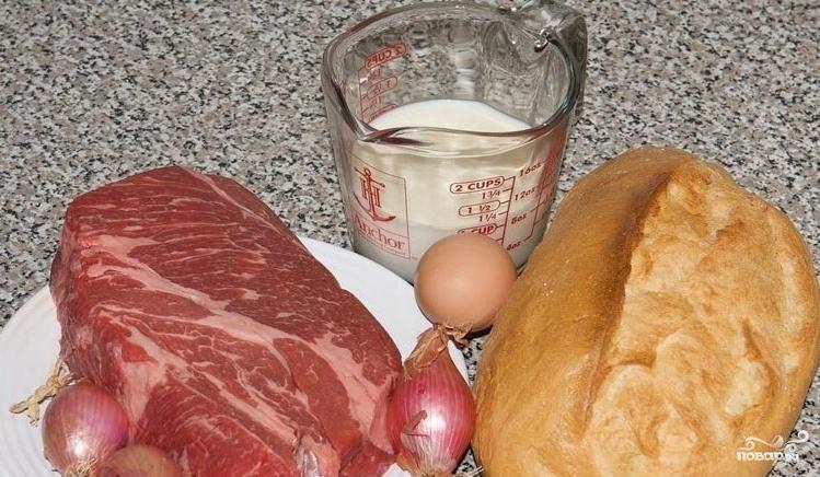 Рецепт Сочные котлеты из говяжьего фарша