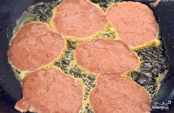 Печеночные оладушки - фото шаг 6