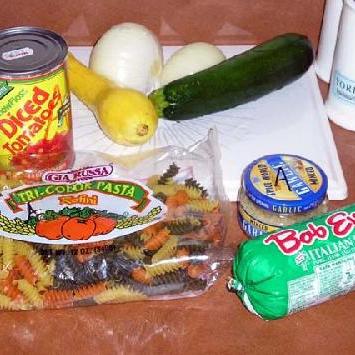 Ротини с итальянской колбасой - фото шаг 1