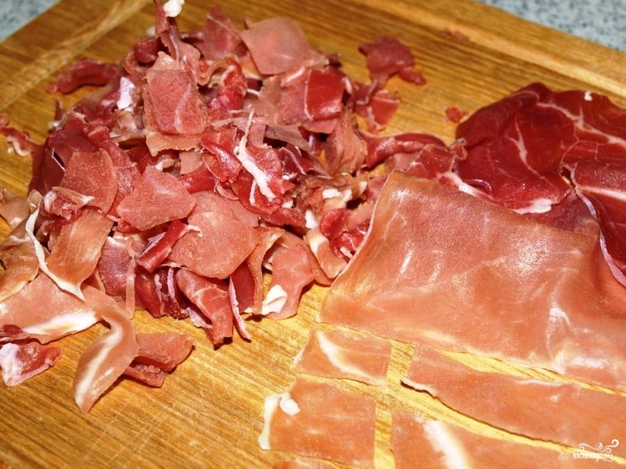 Рецепт Бискотти с пармезаном и ветчиной