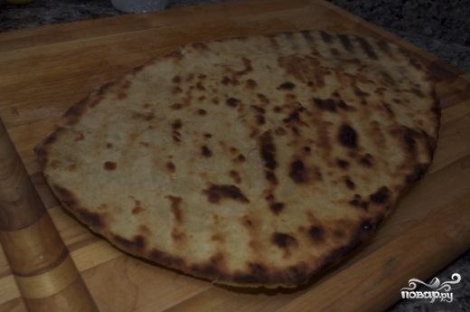 Пицца с лососем - фото шаг 5