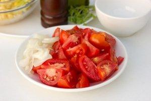 Салат к запеченному мясу - фото шаг 5