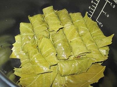 Долма из маринованных виноградных листьев - фото шаг 6