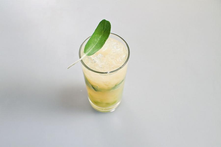 Грушевый лимонад с шалфеем - фото шаг 5