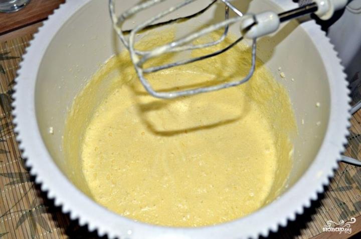 Шоколадный кекс с изюмом - фото шаг 2
