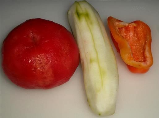 Рецепт Коктейль из овощей в блендере