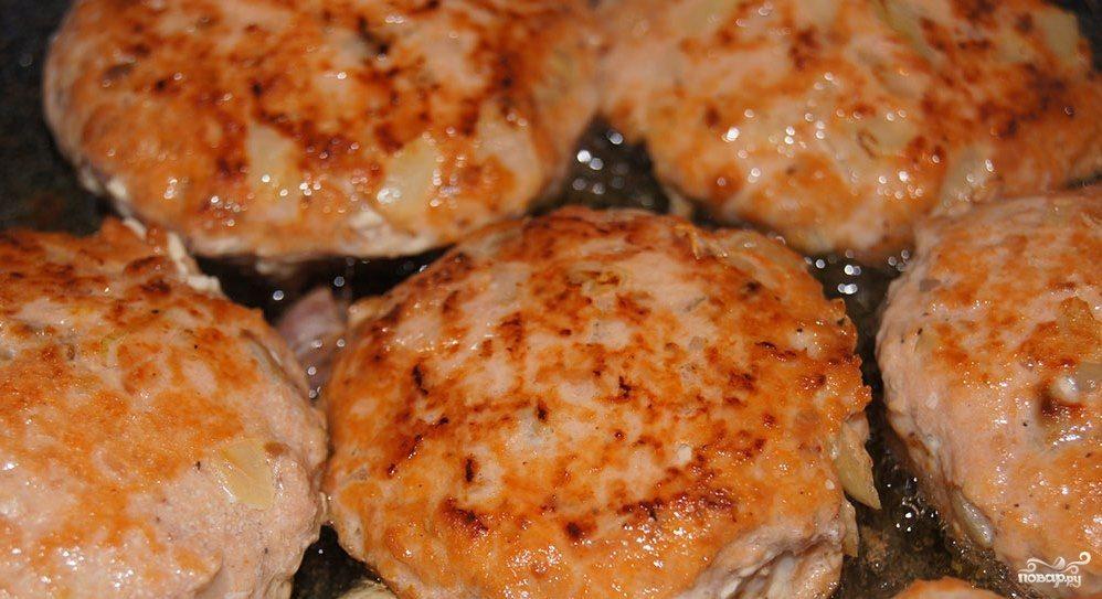 котлеты из говядины с салом рецепт
