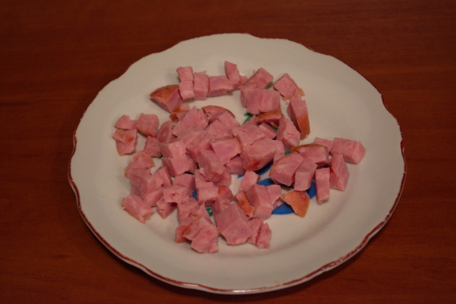 Рецепт Гренки с ветчиной и сыром