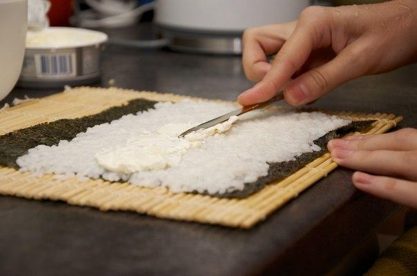 Суши с сыром - фото шаг 4