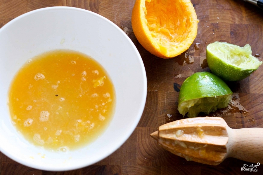 Салат из дыни и арбуза - фото шаг 2