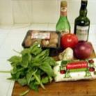 Рецепт Овощная пицца с сыром Моцарелла