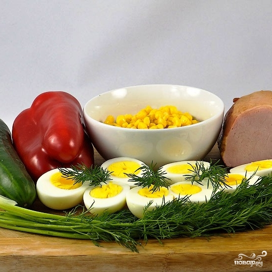 """Рецепт Салат """"Вкусняшка"""""""