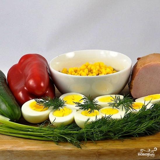 Салат Вкусняшка - фото шаг 1