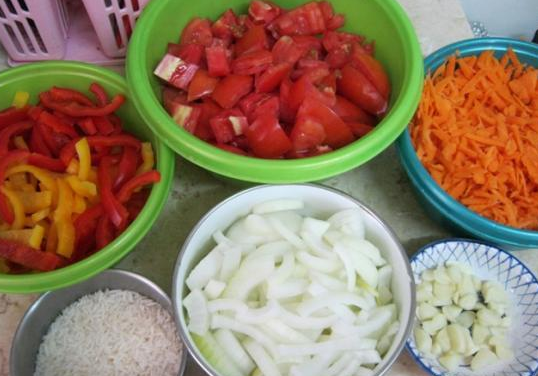 Рецепт Закатка с рисом