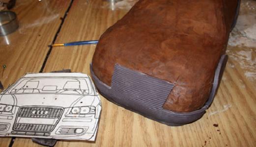 """Торт """"Ауди"""" - фото шаг 7"""