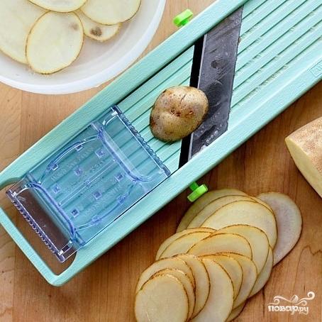 Рецепт Домашние чипсы в микроволновке