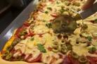 Пицца на противне в духовке