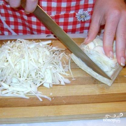 Салат из капусты с уксусом - фото шаг 1