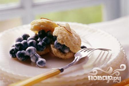 Рецепт Печенье с черникой и йогуртом