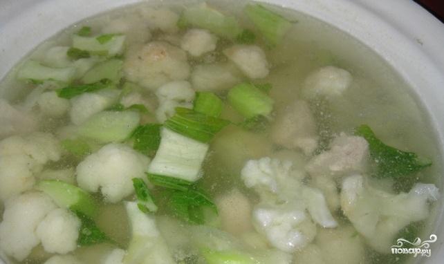 Суп из куриной грудки - фото шаг 8